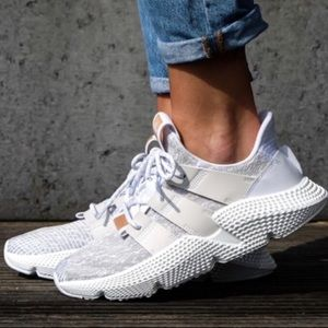 NEW Adidas Sneakers Prophere 7.5 white gray shoe